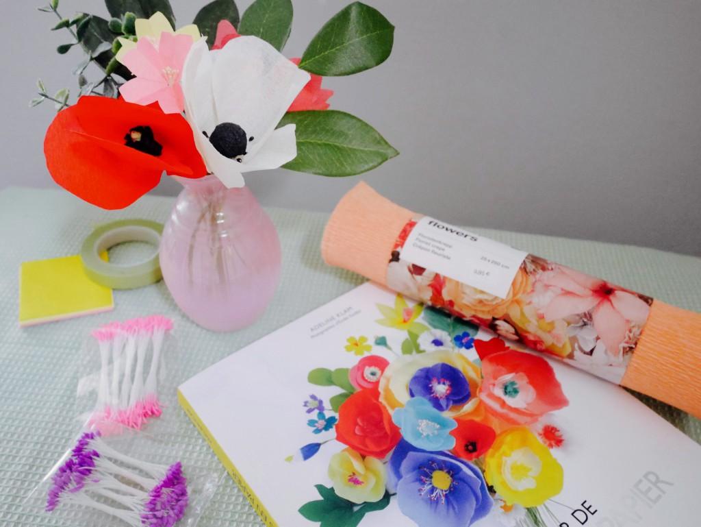 fleurs en papier adeline klam