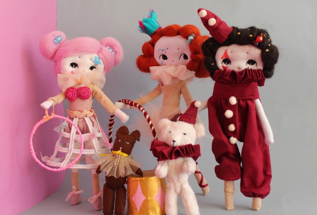 cirque poupées