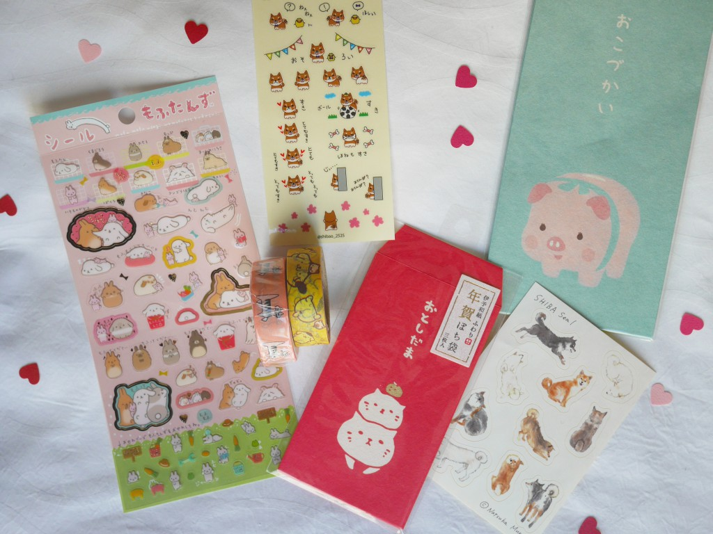 petites choses stickers japon