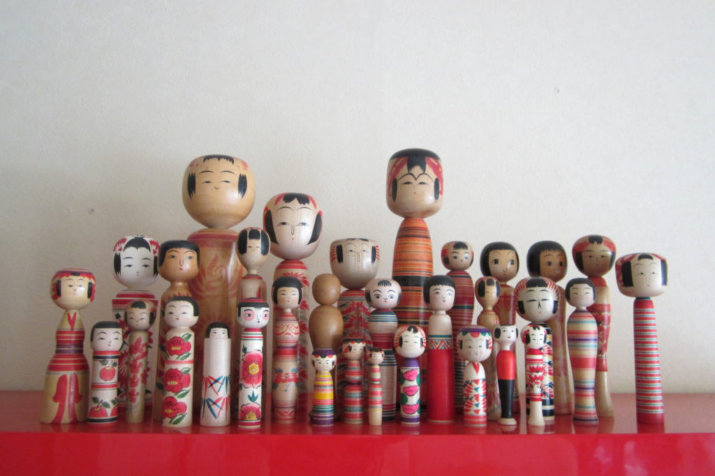 collection kokeshi Folkeshi
