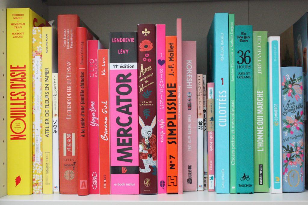 livres bibliothèque déco