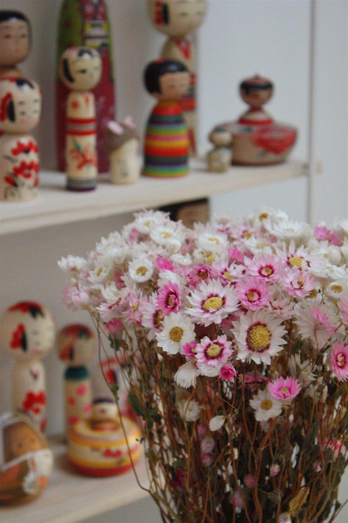 déco fleurs séchées