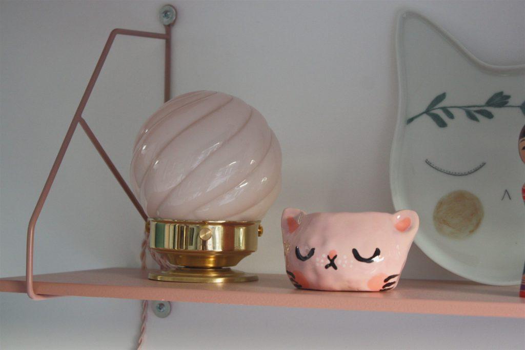 lampe vanity boum déco rose