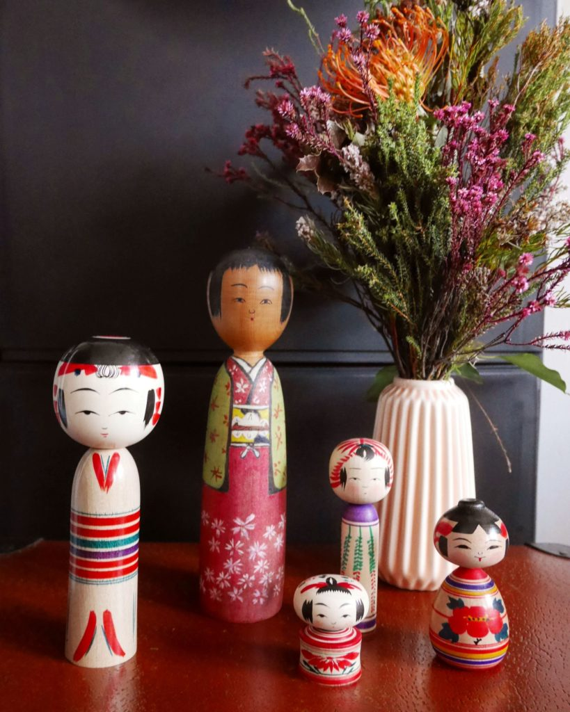 kokeshi traditionnelles