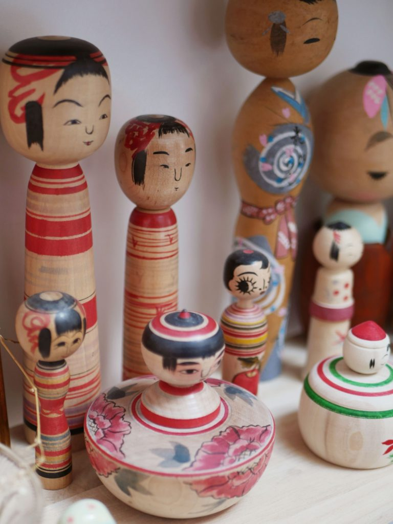 kokeshi collection japon